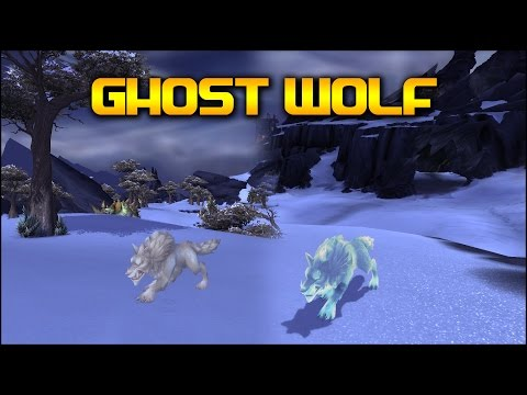 Warlords of Draenor: Ghost Wolf Model Update