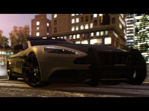 Grand Theft Auto IV NYPD 2013 Aston Martin Vanquish Car Model