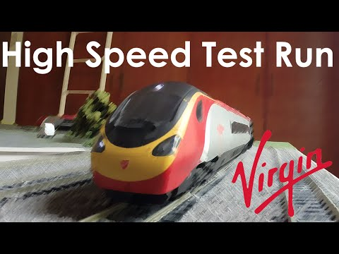 Top Speed Test | Featuring the Hornby Virgin Trains Pendolino