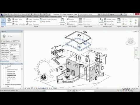 Revit tutorial: Working with Displace | lynda.com