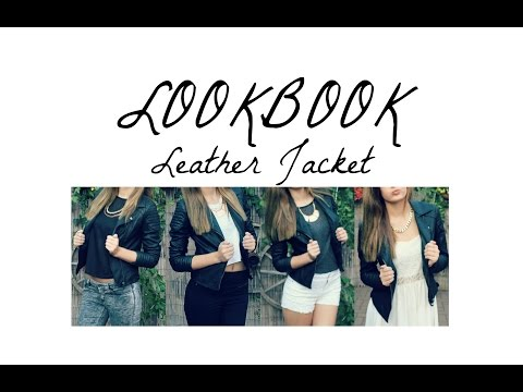 LOOKBOOK#1 – LEATHER JACKET | 4 Outfits | Lisa Beau