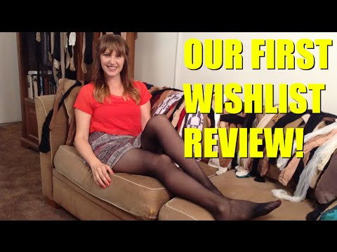 Penelope's First Amazon Wishlist Review! Off-Black L'eggs | Penelope's Pantyhose