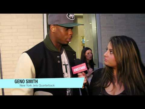Celebrity Fall Trends: Jordin Sparks, Geno Smith & More Dish At NFL Hall of Fashion