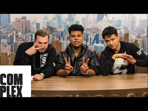 Makonnen and New York Fashion Week on Fashion Bros! Season 2 Ep  2