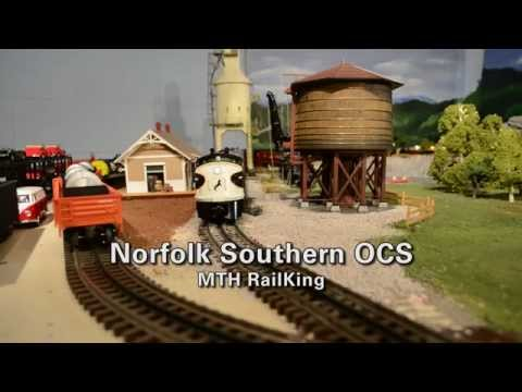 Norfolk Southern OCS by MTH RailKing