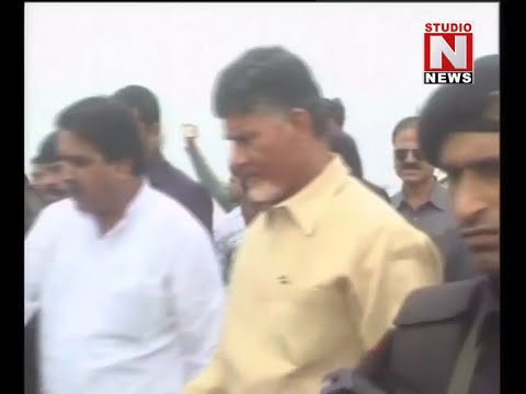 CM Chandrababu arrives Chhattisgarh | Studio N