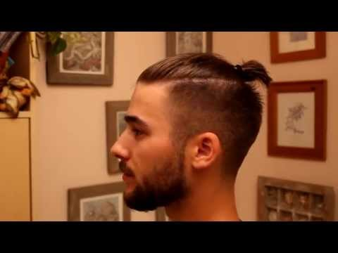 Man Bun – Top Knot Tutorial | Mens hairstyle tutorial | Mens Hair 2014