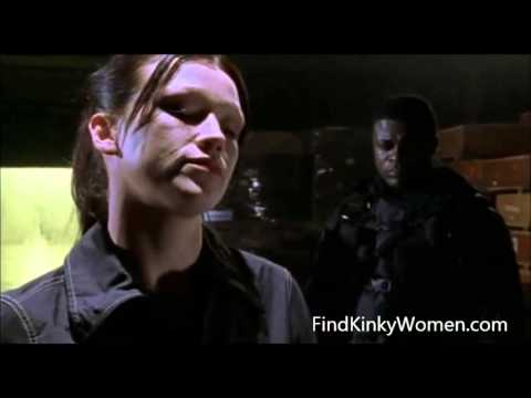 Ultimate Force s2e4 female soldier squeezes his testicles