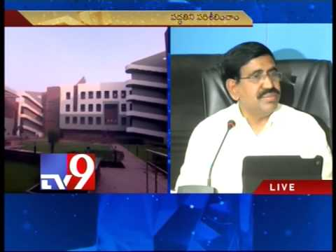 A.P minister Narayana speaks to media – Tv9