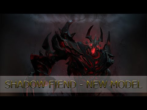 Shadow Fiend – New Model and New Effects!