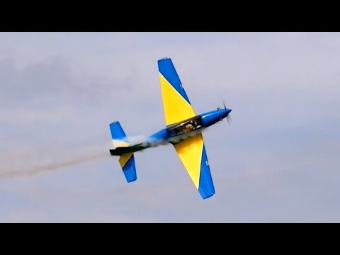 RC Turboprop T-27 Tucano from Joao Matos Ws 2,70m 15Kg , JetPower Messe 2014 *HD*