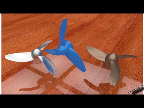 Solidworks Tutorial #10: how to model a simple propeller in solidworks