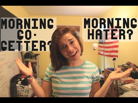 YOU'RE A MORNING HATER?! | GollyGEEashley