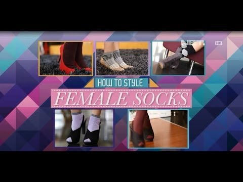 iLook – How To Style – Female Socks