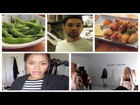 Vlog | LFW & Japanese food with Mennar | Tasha Green ♥
