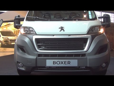 Peugeot Boxer Cargo Edition 435 L3 (2014) Exterior and Interior in 3D 4K UHD