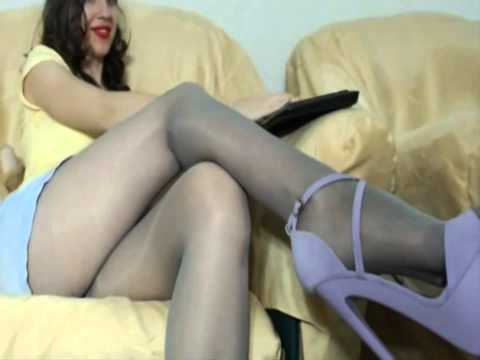 Wonderful moments  pantyhose shoes