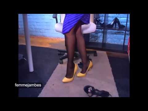 what you want she know pantyhose shoes
