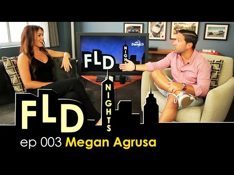 """FLD Nights – Megan Agrusa """"The Leather Body Suit Just Busted!"""""""