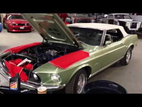Tilt away Wheel Bob's 1969 Mustang GT Matching Numbers Ford Mustang – Day 162 – Part 2