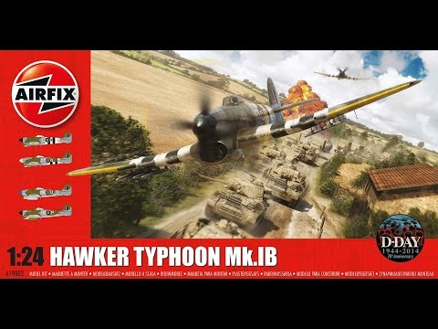 Airfix 1/24 Typhoon build Stage's 121 to 127