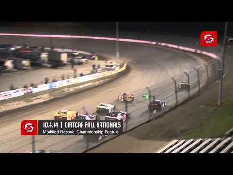 10.4.14 DIRTcar Fall Nationals Feature Highlights:  UMP Late Models  |  UMP Modifieds