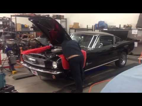 Confirmed A Code 4 Speed Curtis' 1966 Mustang Fastback Day 8
