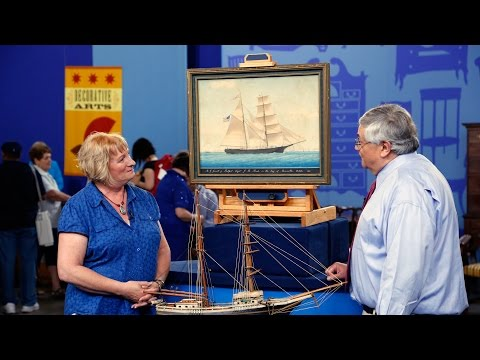 Jacksonville, Hour 1 Preview: A.G. Jewett Watercolor & Ship Model
