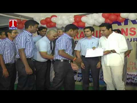Telangana IT Minister KTR and MP Balka Suman attends car launching ceremony in Varun Motors