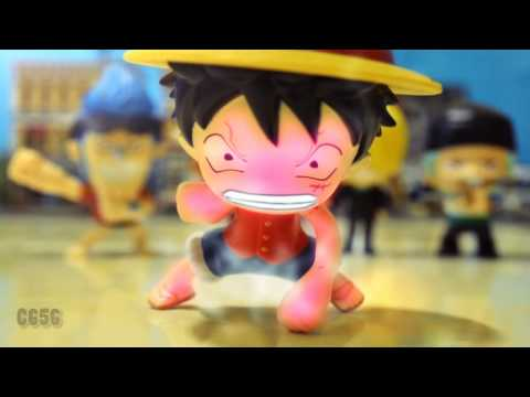 One Piece VS Dragon Ball stop motion – Luffy VS Cell 魯夫VS塞魯