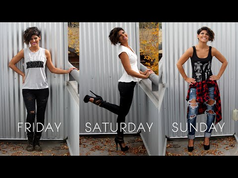 WEEKEND OUTFITS