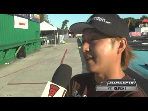 JConcepts Pit Report with Atsushi Hara after Q5 at 2014 IFMAR ISTC Scale World Championships