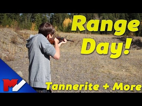 RANGE DAY! – Benelli Shotgun, Tannerite & More