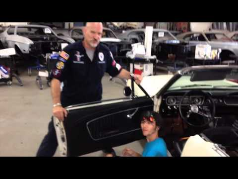 Door panel Install on Lee's 1965 Mustang Convertible FOR SALE Day 3