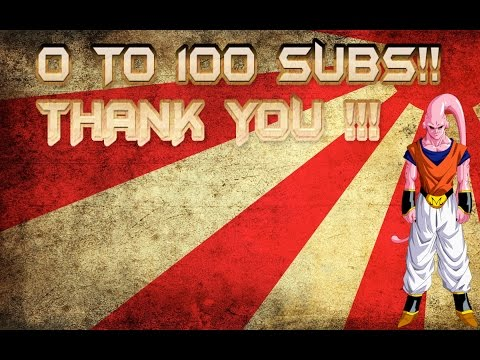 FROM ZERO TO ONE HUNDRED (and 1 lol )SUBSCRIBERS:thank you :)