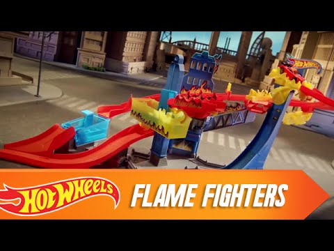 Flame Fighters | Commercials | Hot Wheels