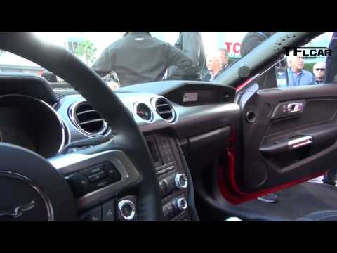 Watch The All New 2015 Ford Mustang Gt Debut In Hollywood
