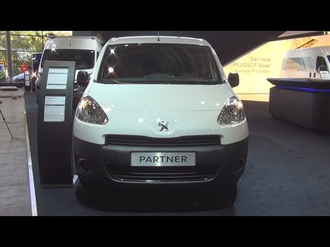 Peugeot Partner Pharma Edition L2 1.6l HDi 90 (2014) Exterior and Interior in 3D 4K UHD