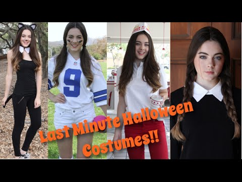 Fast & Fun Last Minute Halloween Costumes!
