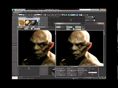 3DS Max tutorial: Create a demon head model in 3ds Max and ZBrush, Part 2