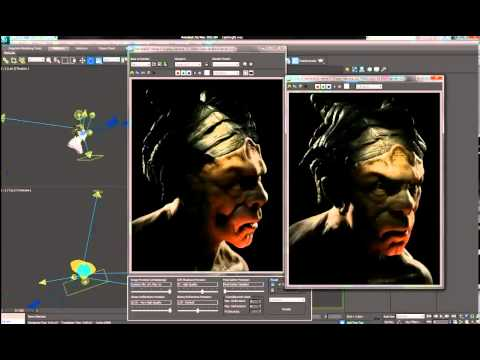 3DS Max tutorial: Create a demon head model in 3ds Max and ZBrush, Part 3