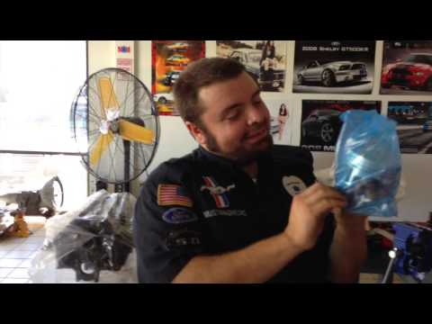 Sealed POWER Forged Pistons on Anna's 1965 Mustang Convertible A Code – Day 42 – Part 2