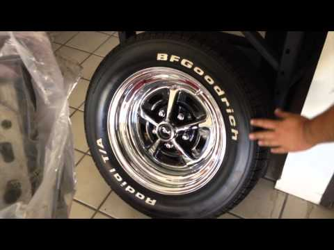 Magnum 500 Rims on Jorg's 1969 M Code Mach 1 Mustang Fastback – Day 51