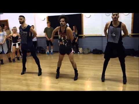 Three Dudes In High Heels Channel Their Inner Beyoncé – thebigtino www.theBigTino.com