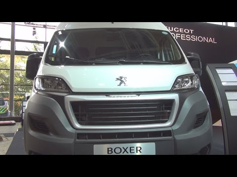 Peugeot Boxer City Worker Edition L2H2 335 2.2 l HDi 130 Exterior and Interior in 3D 4K UHD