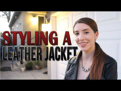 3 Ways to Style a Leather Jacket