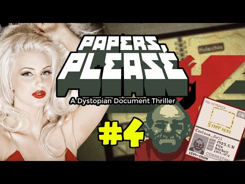 Let's Play: Papers, Please #4 – PUT THAT AWAY!