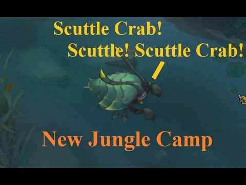 Scuttle Crab! New Jungle Mob Now Has Actual Crab Model