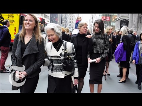 Paying Respects   On the Street w/ Bill Cunningham   The New York Times