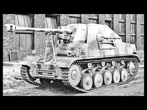 WWII German Panzerjager Marder variants – quick overview